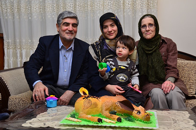 With Maryam's Family