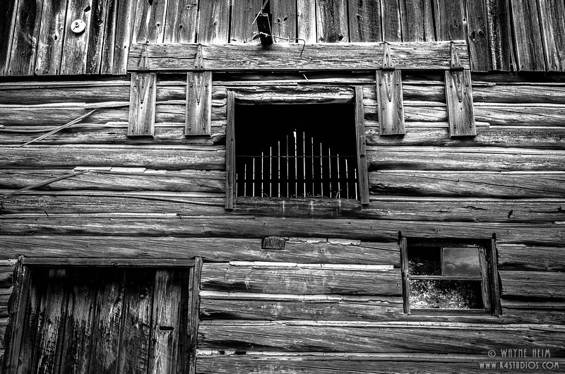 Hayloft - Black & White Photography by Wayne Heim