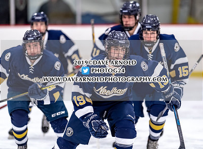 1/30/2019 - Boys Varsity Hockey - Needham vs Milton