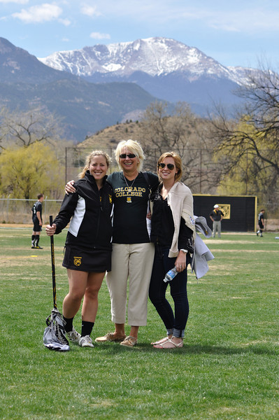 Staadt Family Pics at Centre Game