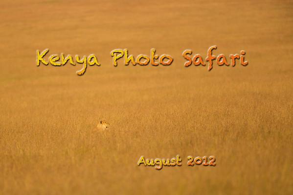 Kenya Photo Safari 2012