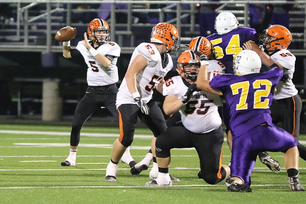 09d Football: Wheelersburg at Valley 2017: FOURTH Quarter