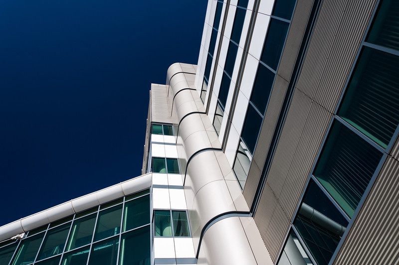 Modern Architecture at Inner Harbor, Baltimore, Maryland