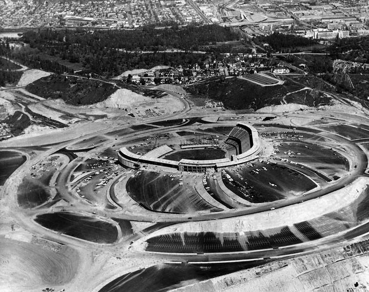 1962, Dodger Stadium Under Construction