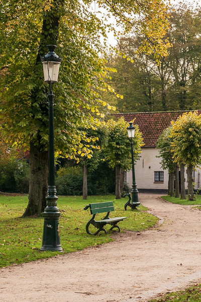 Brugge Minnewaterpark.