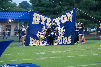 2015_09_4 Hylton Varsity vs Osbourn City