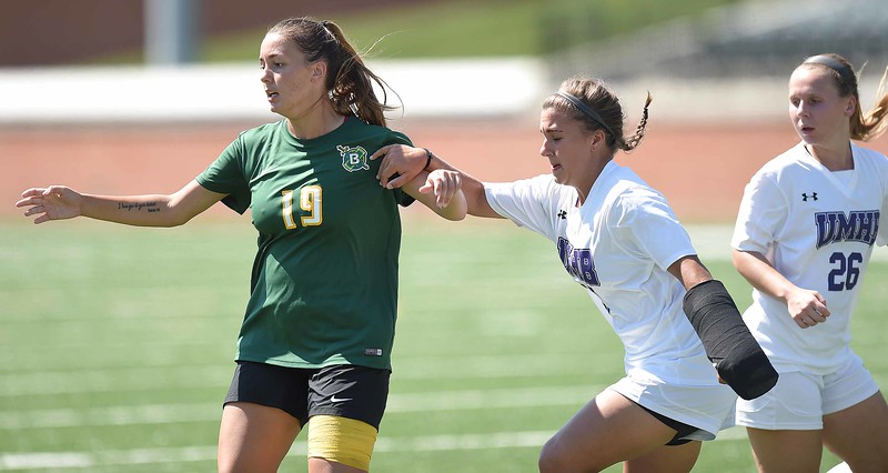 Belhaven University women's soccer vs. Mary Hardin -  September 30, 2017