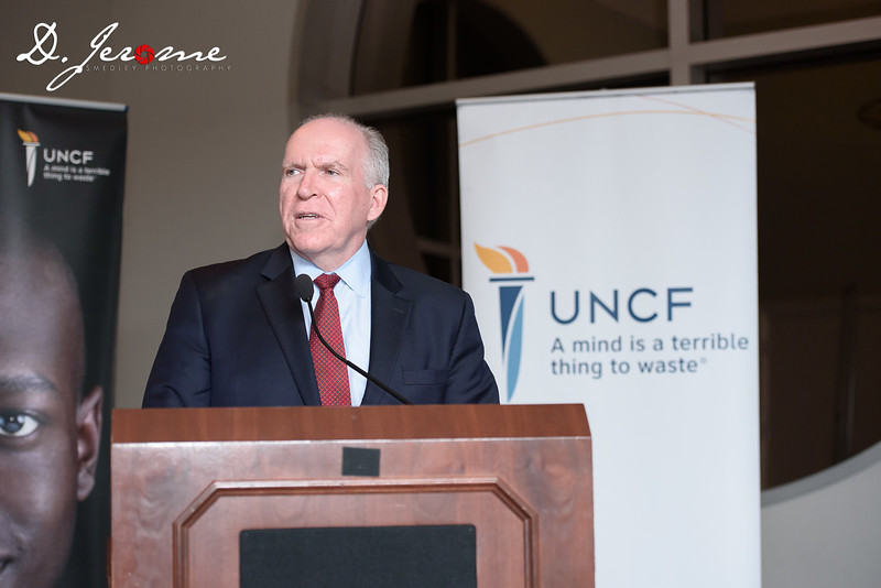 Former CIA Director John Brennan at UNCF Event