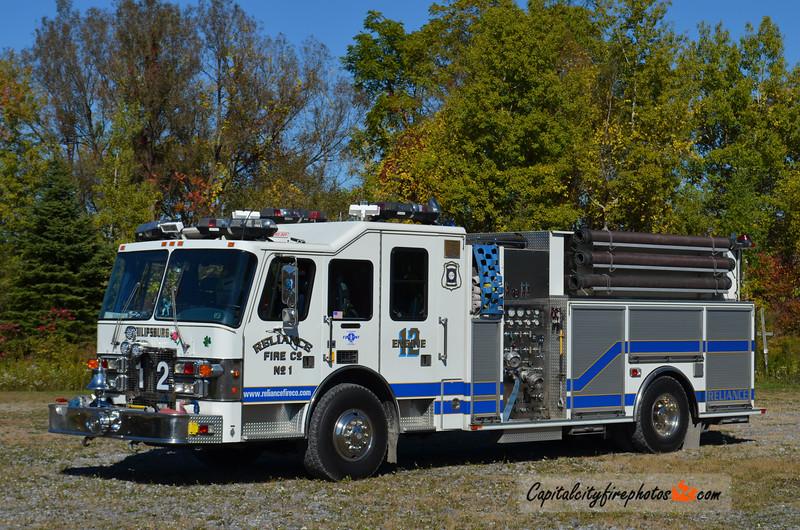 Reliance Fire Co., Philipsburg (Centre Co.) Engine 12: 1996 Simon-Duplex/ITE 1500/750