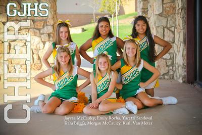 GJHS Cheerleader