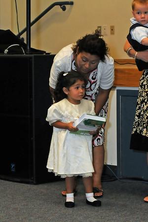 Dedication August 14, 2011; Salazar Family