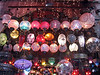 Exotic lights at the Grand Bazaar.