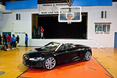 August 11th, 2010 First 2011 Audi R8 V10 Spyder Cabriolet Convertible Presentation