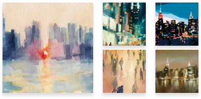 New York Wall Art for Sale - Beverly Brown Artist