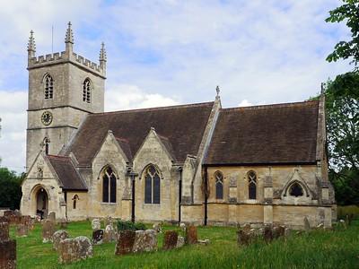 St Martin, Church of England, Church Street, Bladon, OX20 1RW