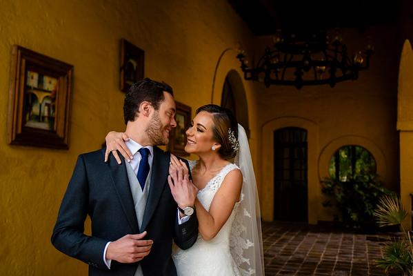 Andrea and Pablo´s Wedding at Hacienda Pedregal, Mexico City
