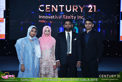 Century 21 Innovative Realty Inc.   Awards night  - Dec 21 2019
