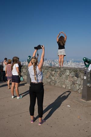 Twin Peaks - three tourists