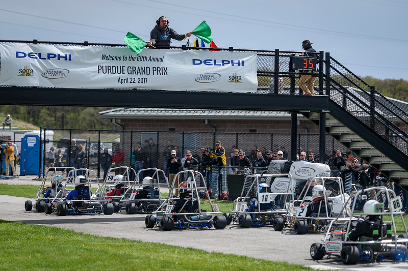 4/22/17 Purdue Grand Prix, Green Flag