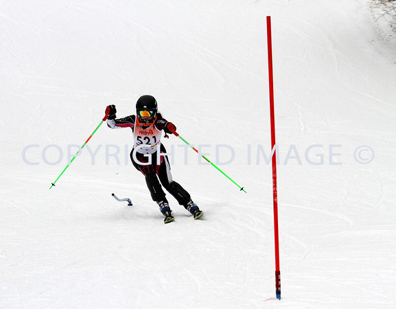 Clarkston Ski Regionals 2013 - Girls Slalom