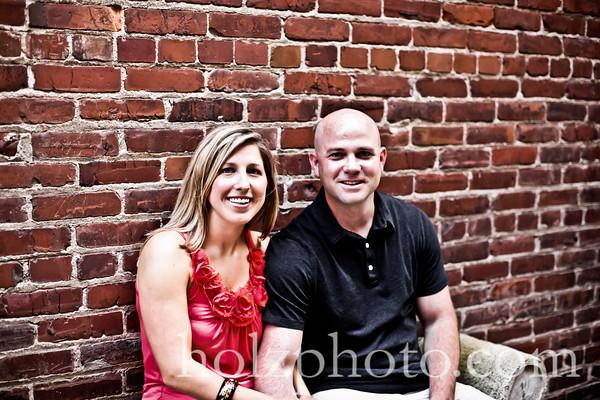 Sarah and Eric Creative Engagement Photos (Louisville, Ky)