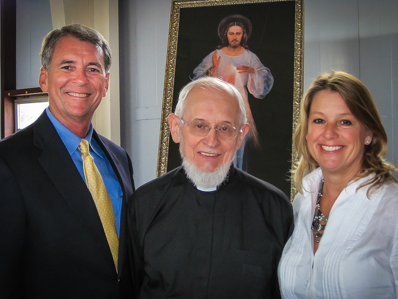 Heaven decided to bless us with a wonderful friend, mentor, companion on the road and more.  May God pour out His blessings abundantly upon His worthy son Fr. Seraphim Michalenko, MIC.  Here we are together again at the New Jersey Divine Mercy Confenence June 26, 2010.