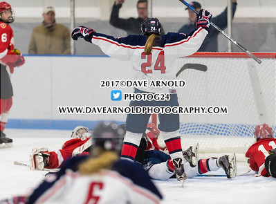 12/15/2017 - Girls Varsity Hockey - Harrington Invitational - St. Paul's vs Lawrence Academy