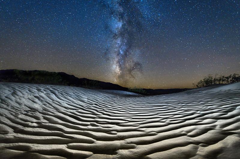 Death Valley Dunes & Milky Way, California