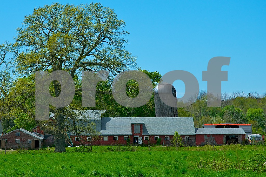 Family farm in summer...