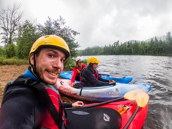 Cours Kayak avec Nouvelle Vague