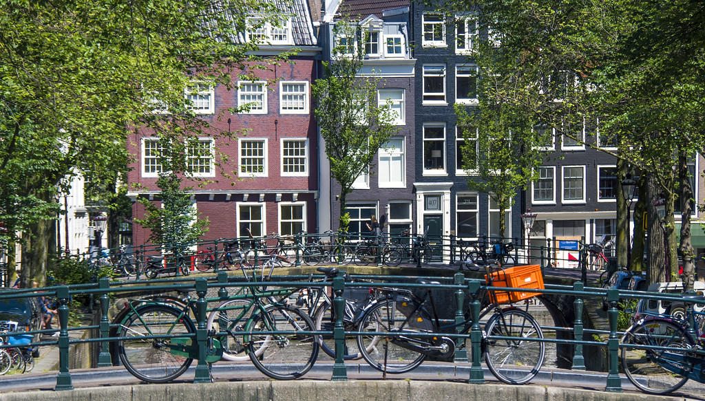 Beautiful cities of Europe: Amsterdam, Netherlands