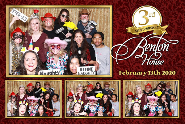 Benton House 3rd Anniversary
