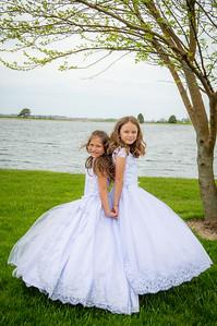 Victoria & Eva Communion Portraits - May 2021