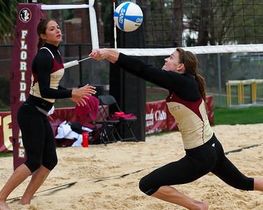 FSU Sand Volleyball Garnet & Gold Game 2012