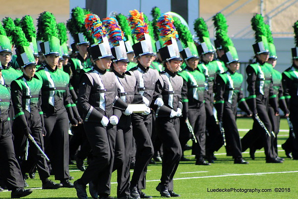 Espirit de Corps at Area competition