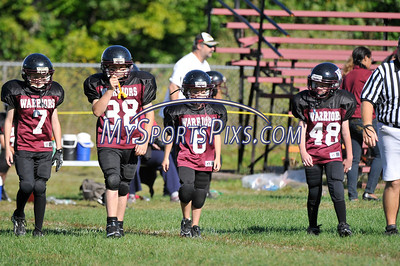 5th Grade Waterbury Knights vs Torrington Warriors  2012