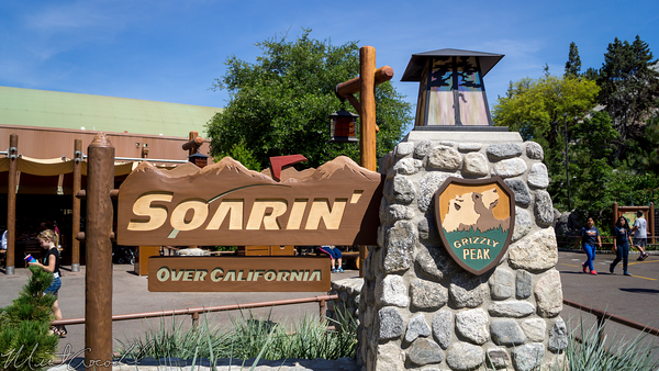Disneyland Resort, Disney California Adventure, Grizzly, Peak, Airfield, Soarin, California