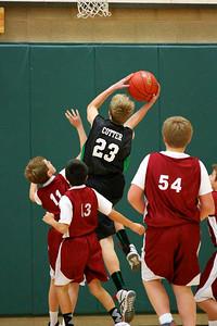 7th Grade Boys • St. Vincent's vs St. Ambrose 12-8-12