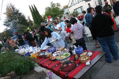 Wyman St block party