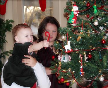 Cooper Christmas Pictures - Dec 4, 2007