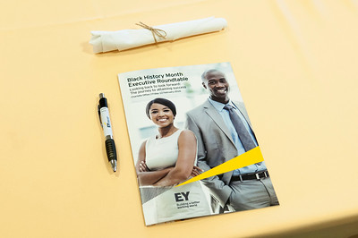 Ernest & Young Black History Month Executive Roundtable @ EY 2-12-16 by Jon Strayhorn