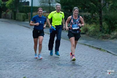Brigitte Rennen Corona Marathon 2020