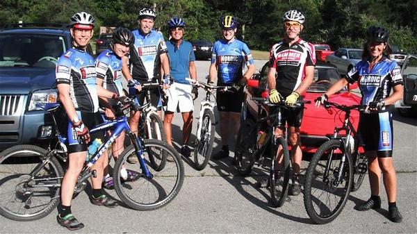 2010-08-25 Team bike and picnic