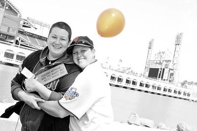 "Nicole and Jewls ""Amazing Race"" Engagement - San Francisco, CA - Photos by Kait Mack"