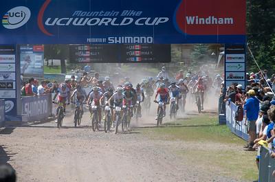 UCI World Cup Mountain Bike - XC Elite Men - Windham
