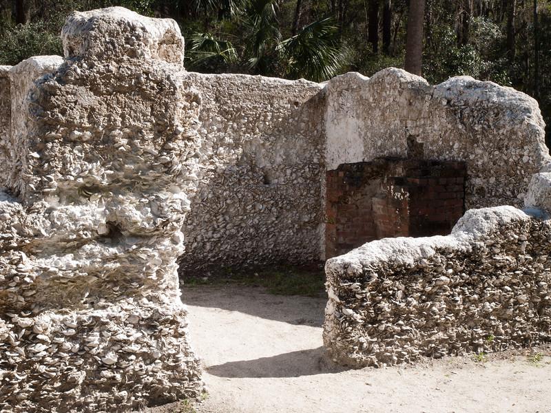 Kingsley Plantation slave quarters