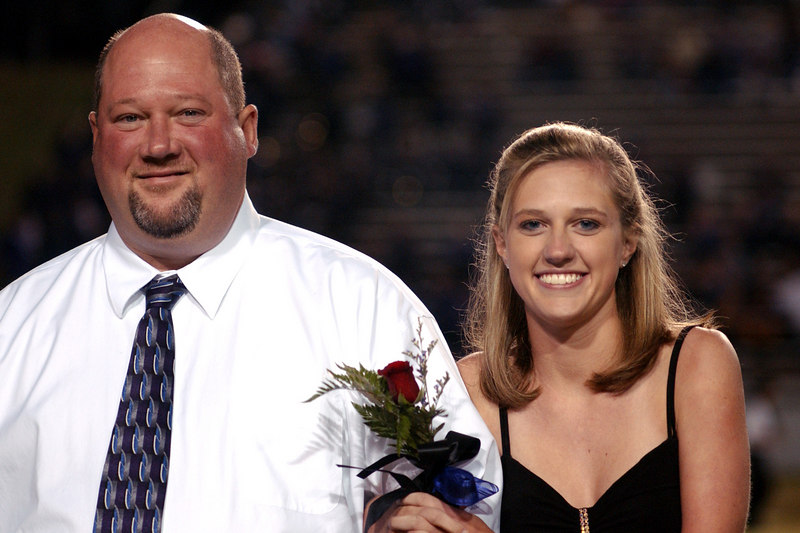 Homecoming Court - Sept. 29, 2006