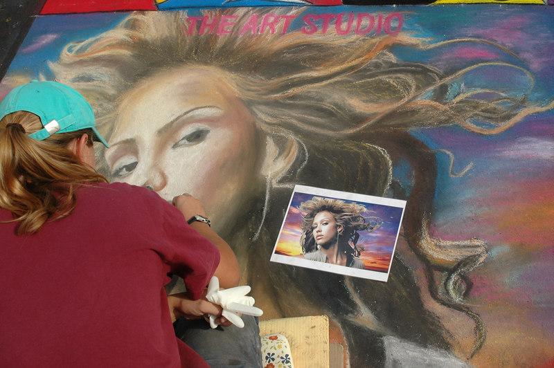 San Rafael Street Painting (June 06)
