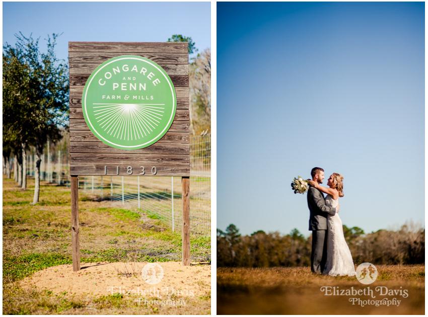 Congaree and Penn Wedding photos | Elizabeth Davis Photography | Jacksonville Florida