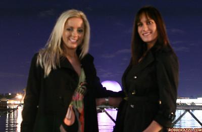 EPCOT Light Show Feb 2009